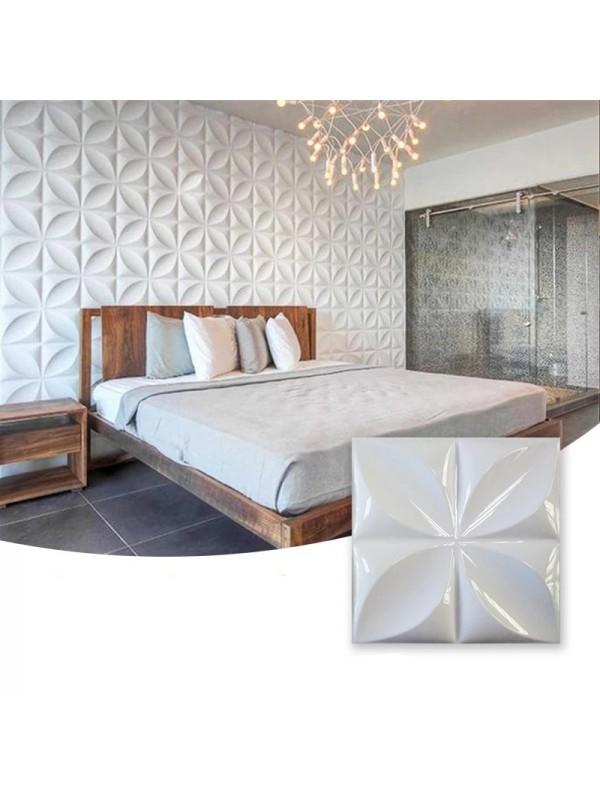 Moldes Para Hacer Paneles Decorativos En Yeso 3D 30x30cm Brasil