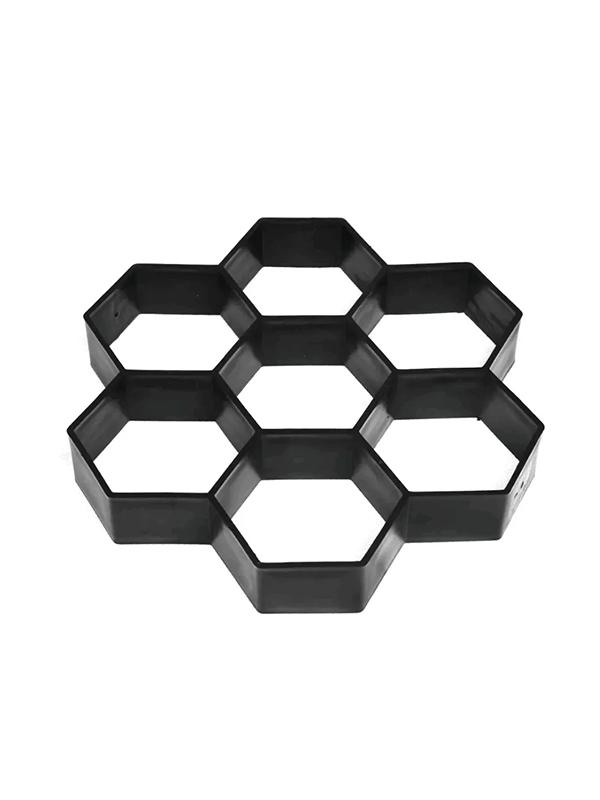 Molde De Piso Estilo Rombos Para Concreto Diseño Clasico