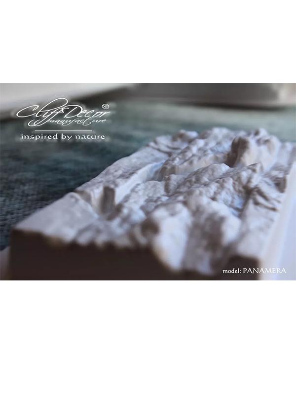 Molde Plástico Piedra Cultivada, Pared Diseño Panamera