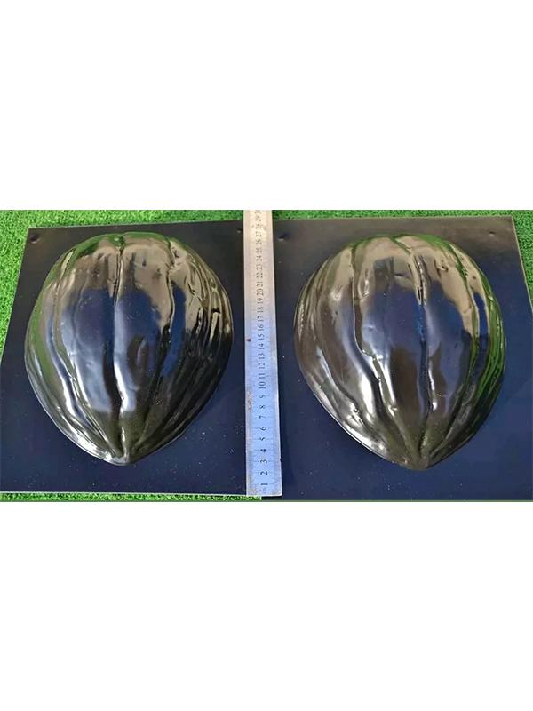 Molde Plastico Para Cemento Forma De Nuez