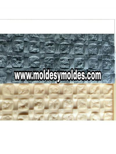 Molde Poliuretano Diseño Minimalista, Pared Cemento O Yeso
