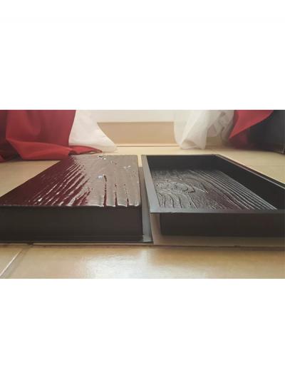 Molde Madera Plástico Pared Tabla Con 3 Vetas Diferentes