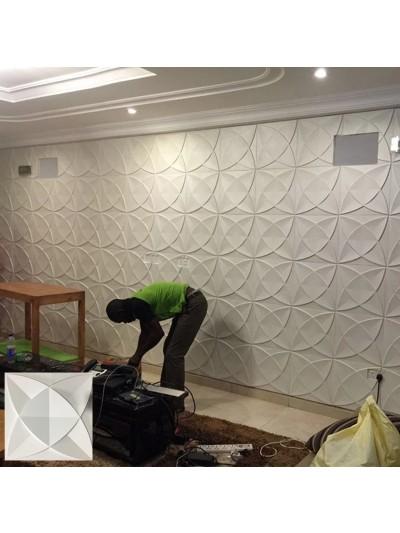 Moldes Para Hacer Paneles Decorativos en YESO 30X30 cm QATAR
