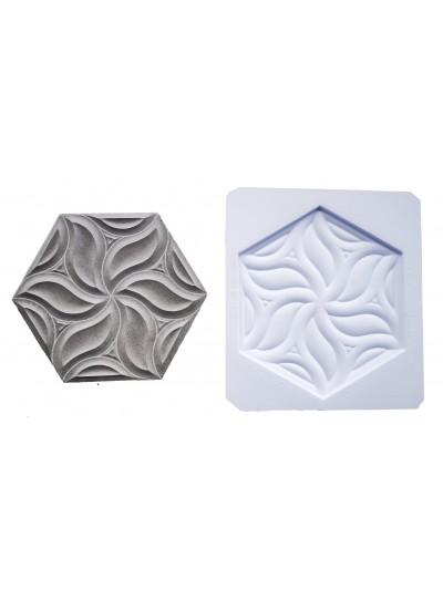Molde de Plastico Para Hacer Mosaicos Petalos Cerámica Cocinas Y Baños