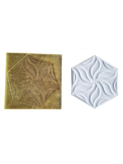 Molde de Poliuretano Para Hacer Mosaicos Petalos Cerámica Cocinas Y Baños