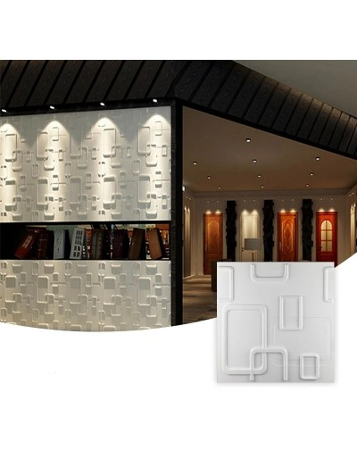 Moldes Para Hacer Paneles Decorativos En Yeso 3D 30x30cm Argentina