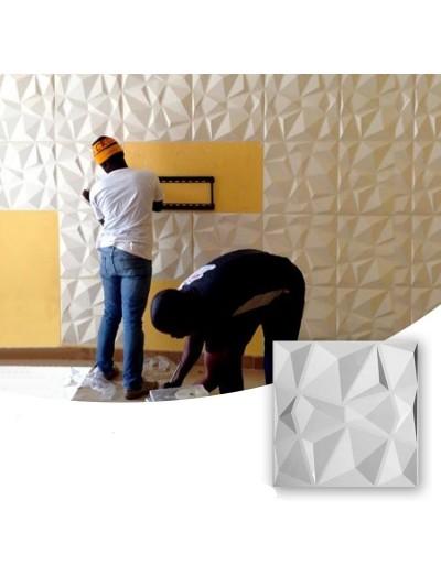 Moldes Para Hacer Paneles Decorativos En Yeso 3D 30x30cm Berlin