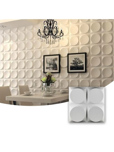 Moldes Para Hacer Paneles Decorativos En Yeso 3D 30x30cm Chile