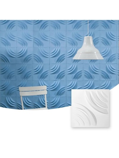 Moldes Para Hacer Paneles Decorativos En Yeso 3D 30x30cm Denver