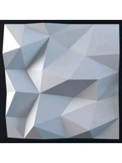 Moldes Para Hacer Paneles Decorativos En Yeso 3D 50X50cm Diamante
