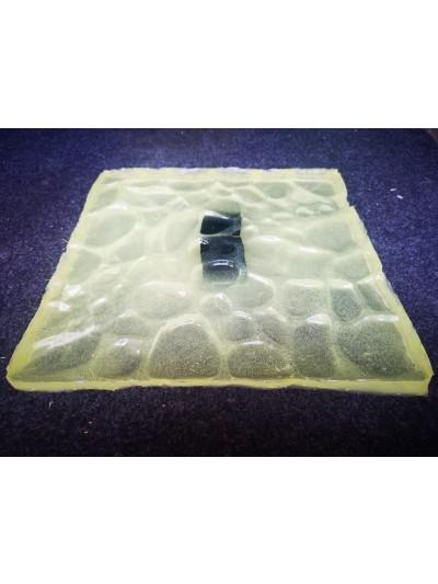 Molde Concreto Estampado Piedra de Rio Calidad Premium
