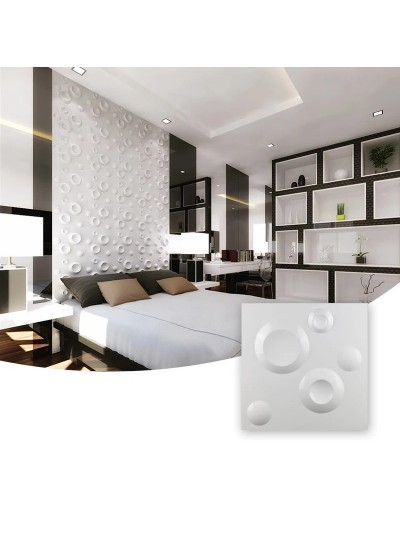 Moldes Para Hacer Paneles Decorativos En Yeso 3D 30x30cm Medellin