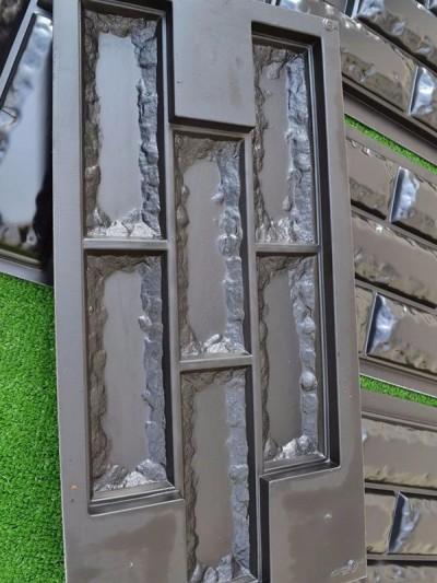 Molde resistente ladrillo pared, decoración cemento o yeso