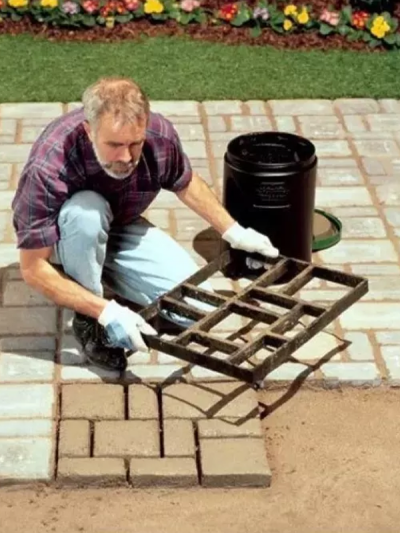 Moldes original europeo piso concreto ligero y resistente