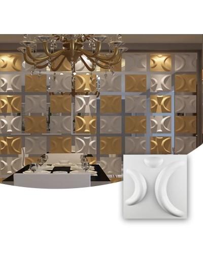 Moldes Para Hacer Paneles Decorativos En Yeso 3D 30x30cm Rio