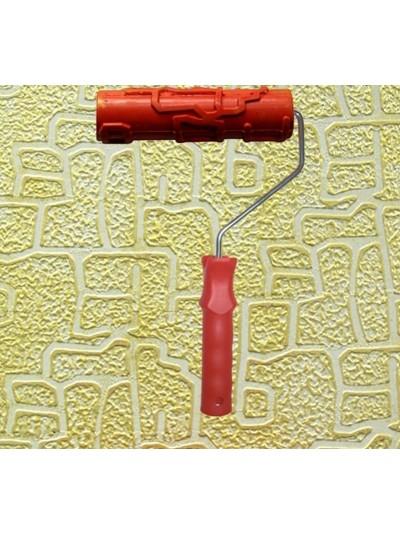 Rodillo Para Estampar o Pintar Paredes Modelo Piedra Irregular